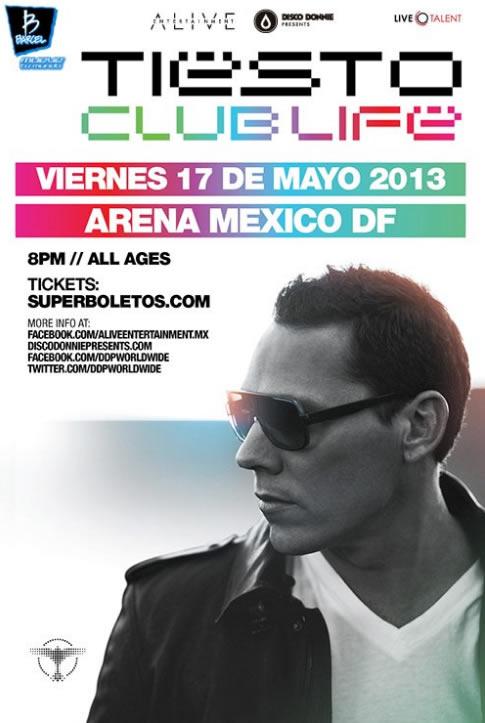 Tiesto Arena Ciudad de México